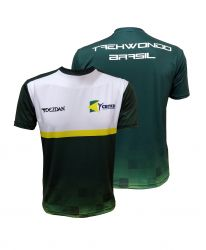 Camiseta Taekwondo Oficial Seleção Brasileira 2019