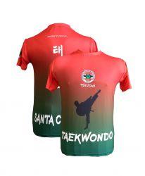 Camiseta Taekwondo Oficial Federação Catarinense 2019