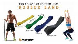 Faixa Circular de Exercícios Rubber Band